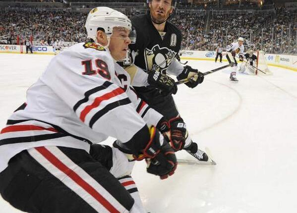 Brooks Orpik Booming Hit on Jonathan Toews Springs Ridiculous Comments from MikeMilbury